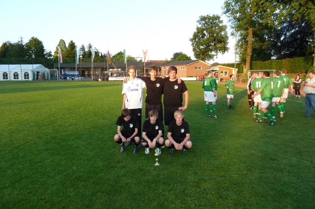 2. Sieger Team Juventus Urin