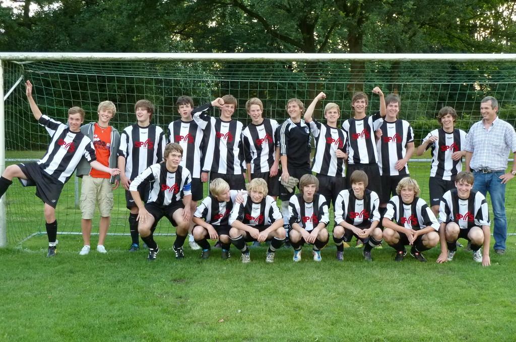 A-Liga Aufstiegsmannschaft der B-Jgd. Saison 2010/2011