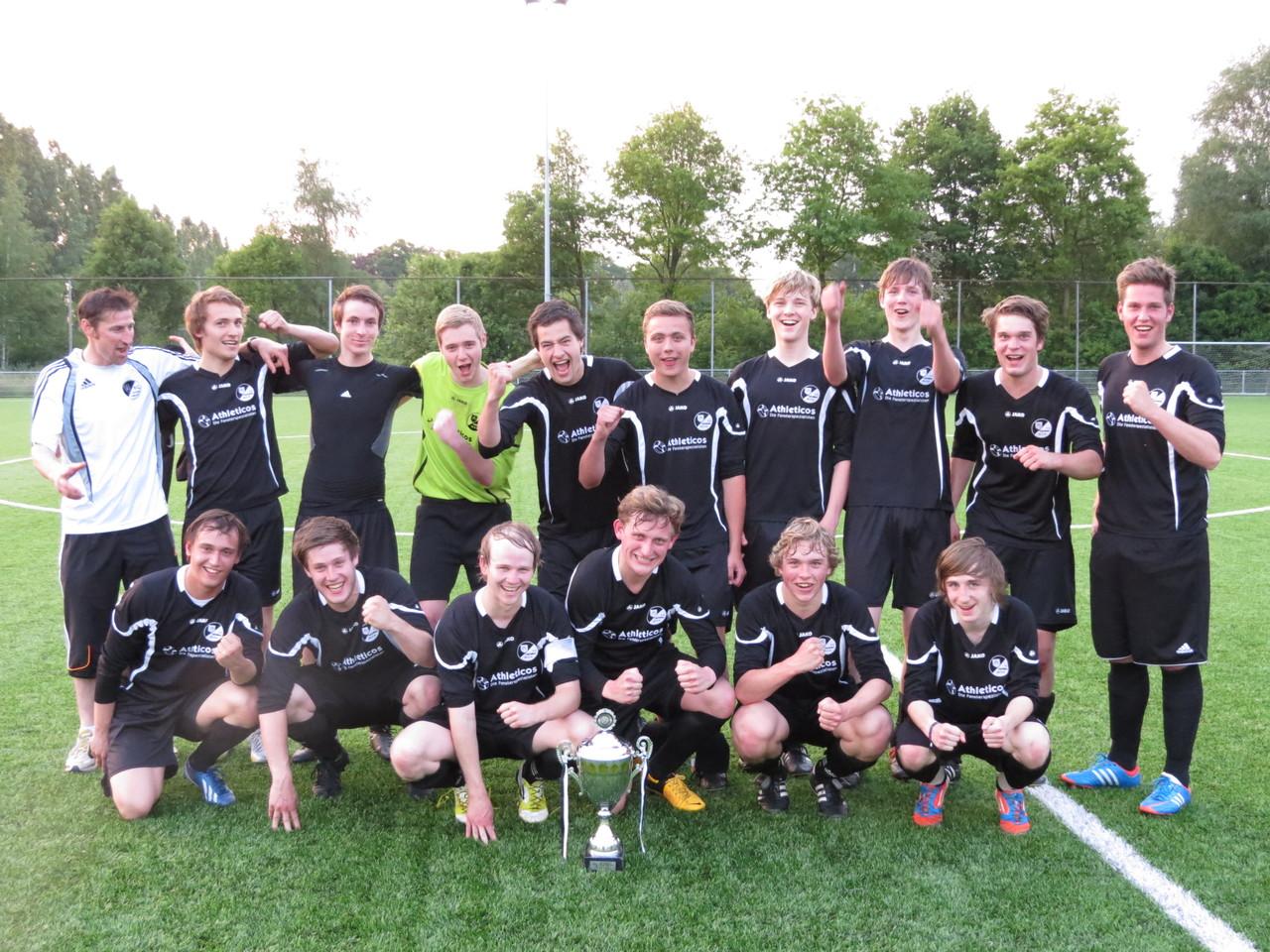 U-21 Finalsiegermannschaft Saison 2012/2013