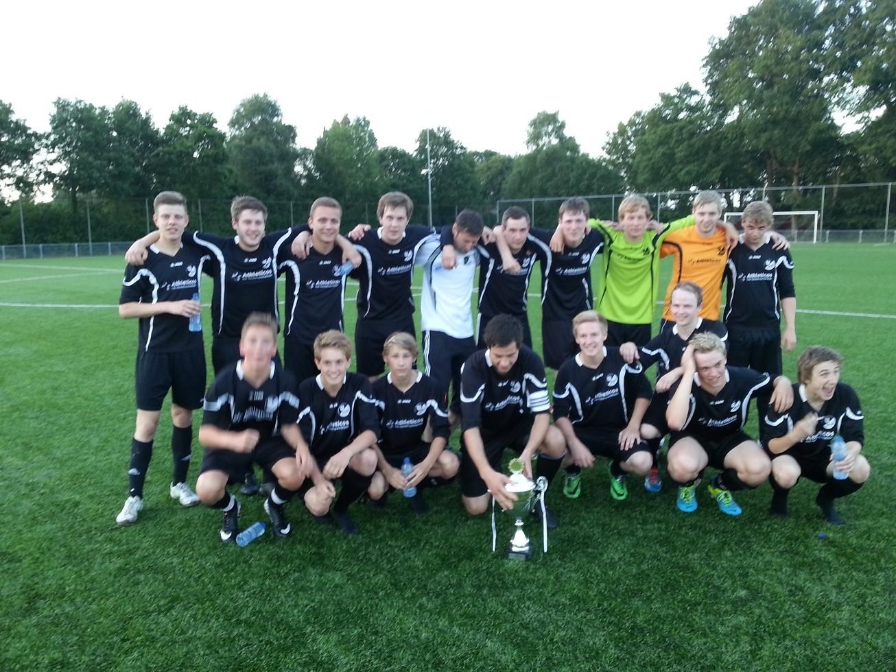 U-21 Finalsiegermannschaft Saison 2013/2014