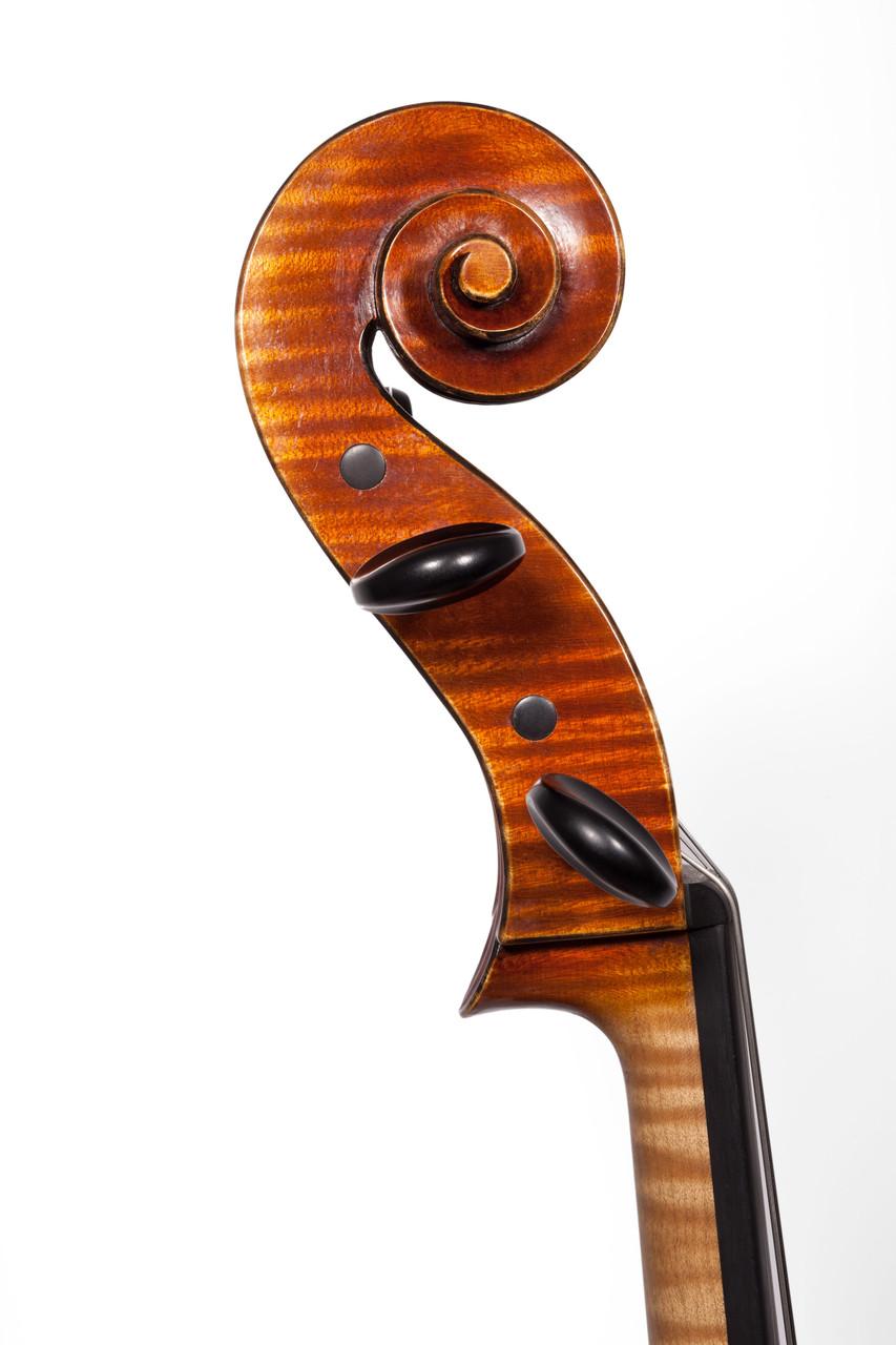 Cello after Antonio Stradivari Forma B (2010/CH), Photos: Thomas Zwillinger