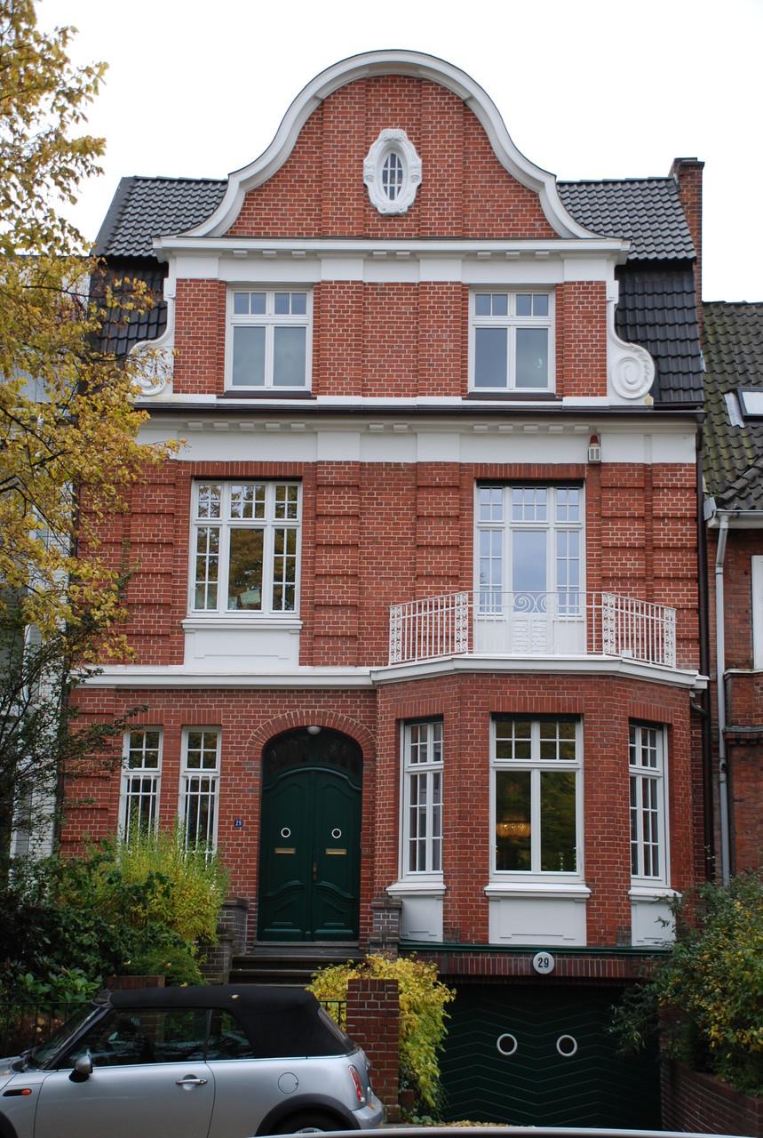 Sanierung einer Stadtvilla in Hamburg
