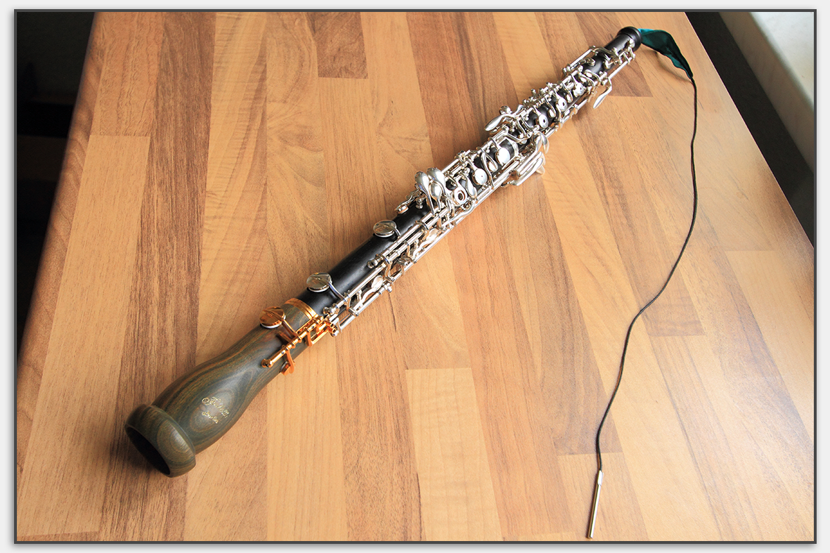 Beim Wischen der gesamten Oboe bekommt man den Wischer ohne Rückholschnur nicht zurück.