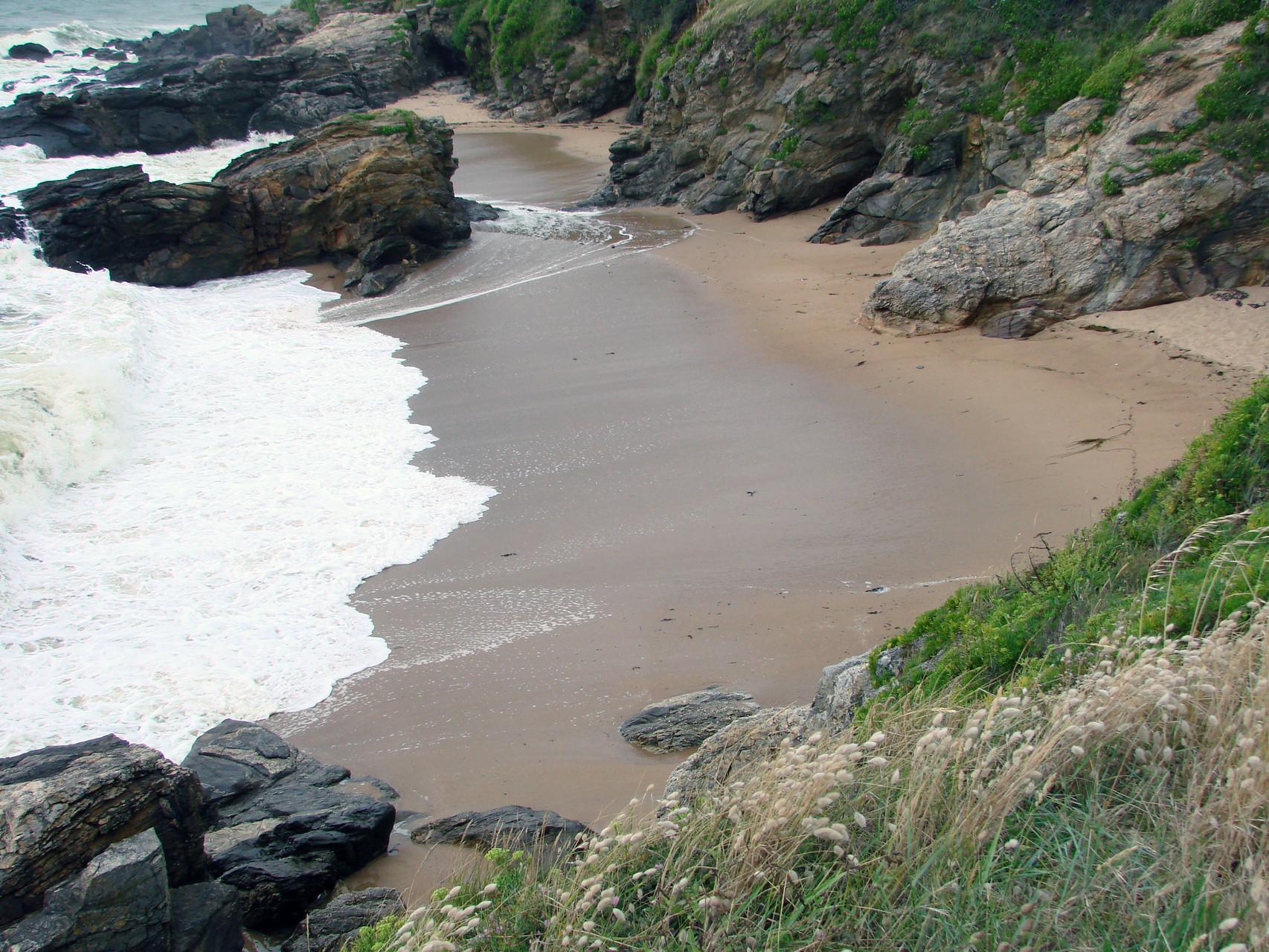 Petite crique sur la côte
