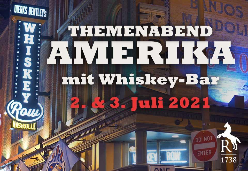 Themenabend AMERIKA mit Whiskey-Bar