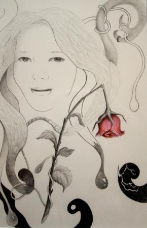 FLeur Bloemen Award, potlood op papier (opdracht Stichting Fleur Bloemen)