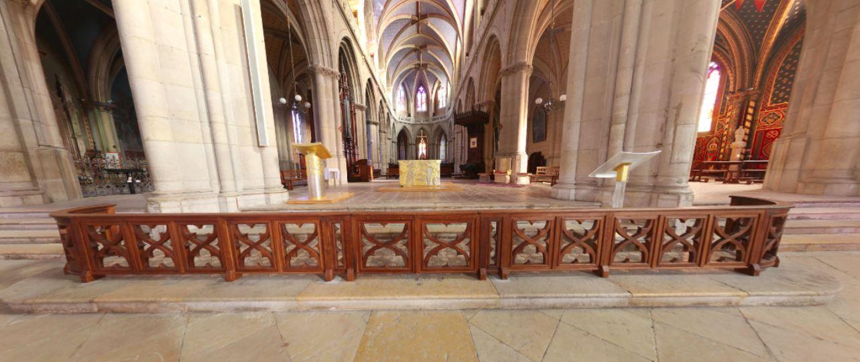 Clic pour accès à: Panorama de la cathédrale