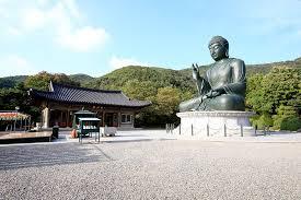 tượng phật cỡ lớn  tại Cheonan