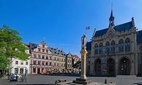Thành phố cổ Erfurt