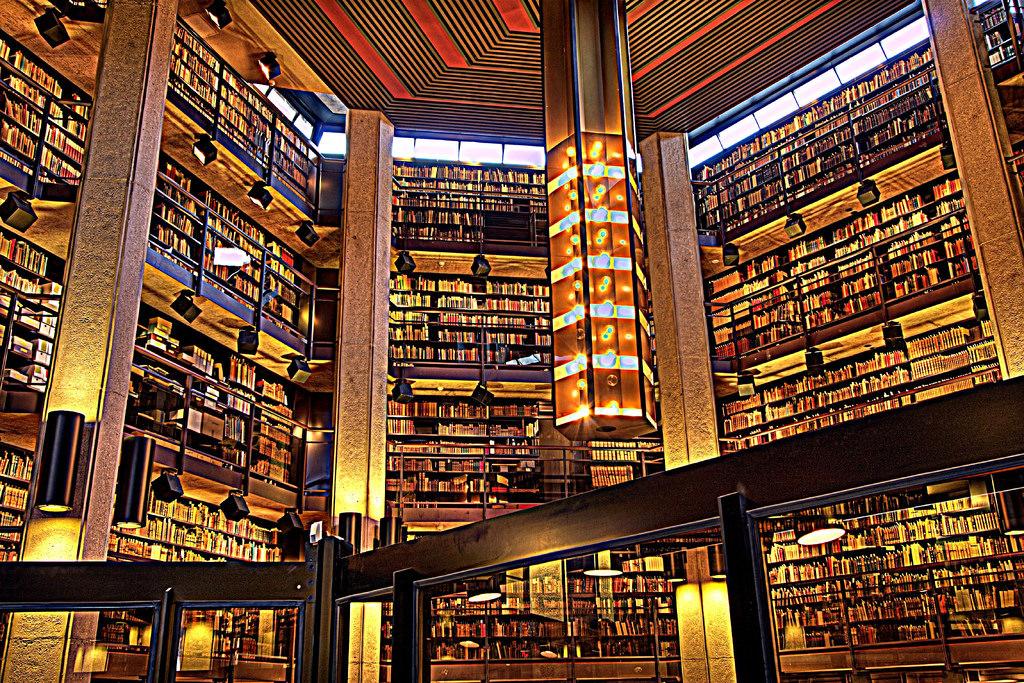 Trường sở hữu thư viện lớn thứ 3 Bắc Mỹ