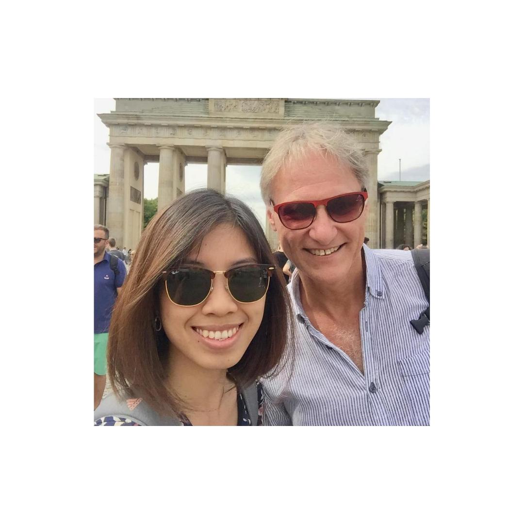 gặp lại phó đại sứ tiền nhiệm Dr. Wolfgang Manig tại Berlin, hiện nay ông là đại sứ Đức tại Baku