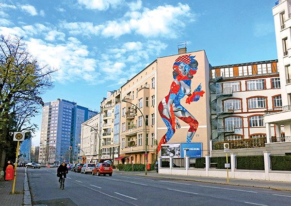 Nghệ thuật vẽ tranh tường tại Berlin- Đức