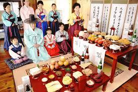 Nghi lế đầu năm tại Hàn