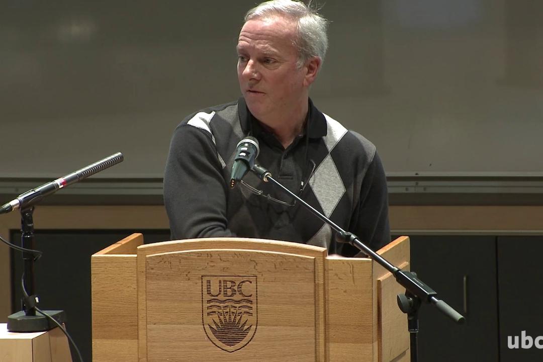 Giải Nobel Y học - PGS. Giáo sư Bruce Mathieson, Sinh học, Trường Nghệ thuật và Khoa học Irving K. Barber