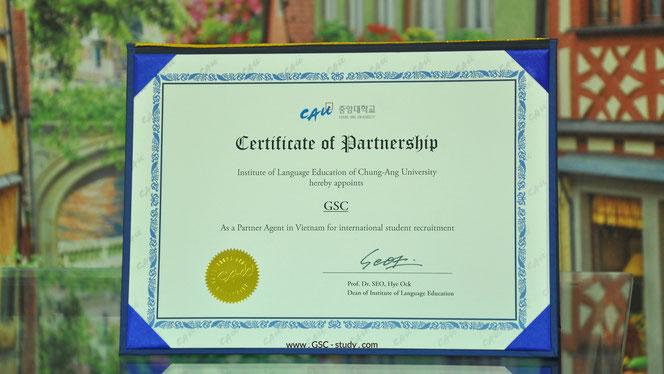 GSC là đại diện tuyển sinh chính thức của CAU tại Việt Nam