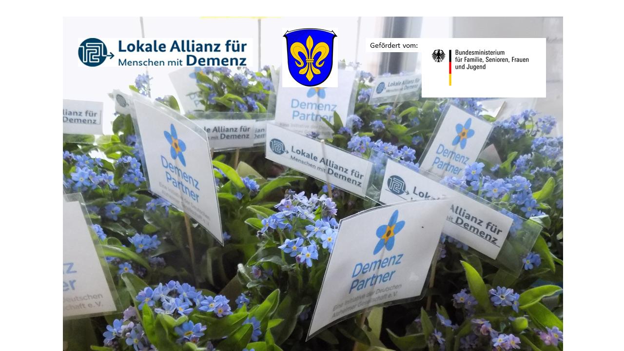 Demenz- Partner der DAlzG, Lokale Allianzen für Menschen mit Demenz
