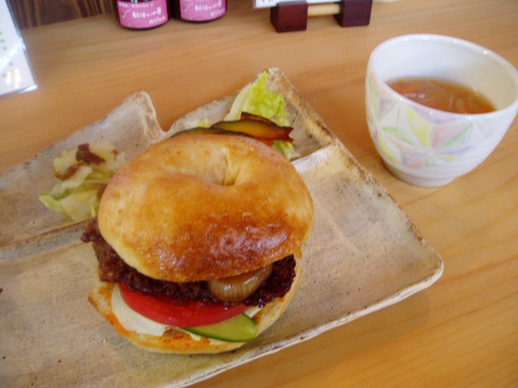 タカキビハンバーガー