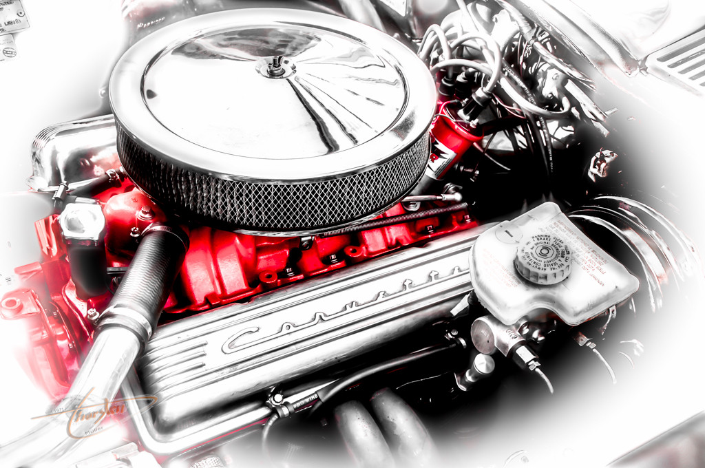 V8 Corvette (... Motor mit Emotionen ... )