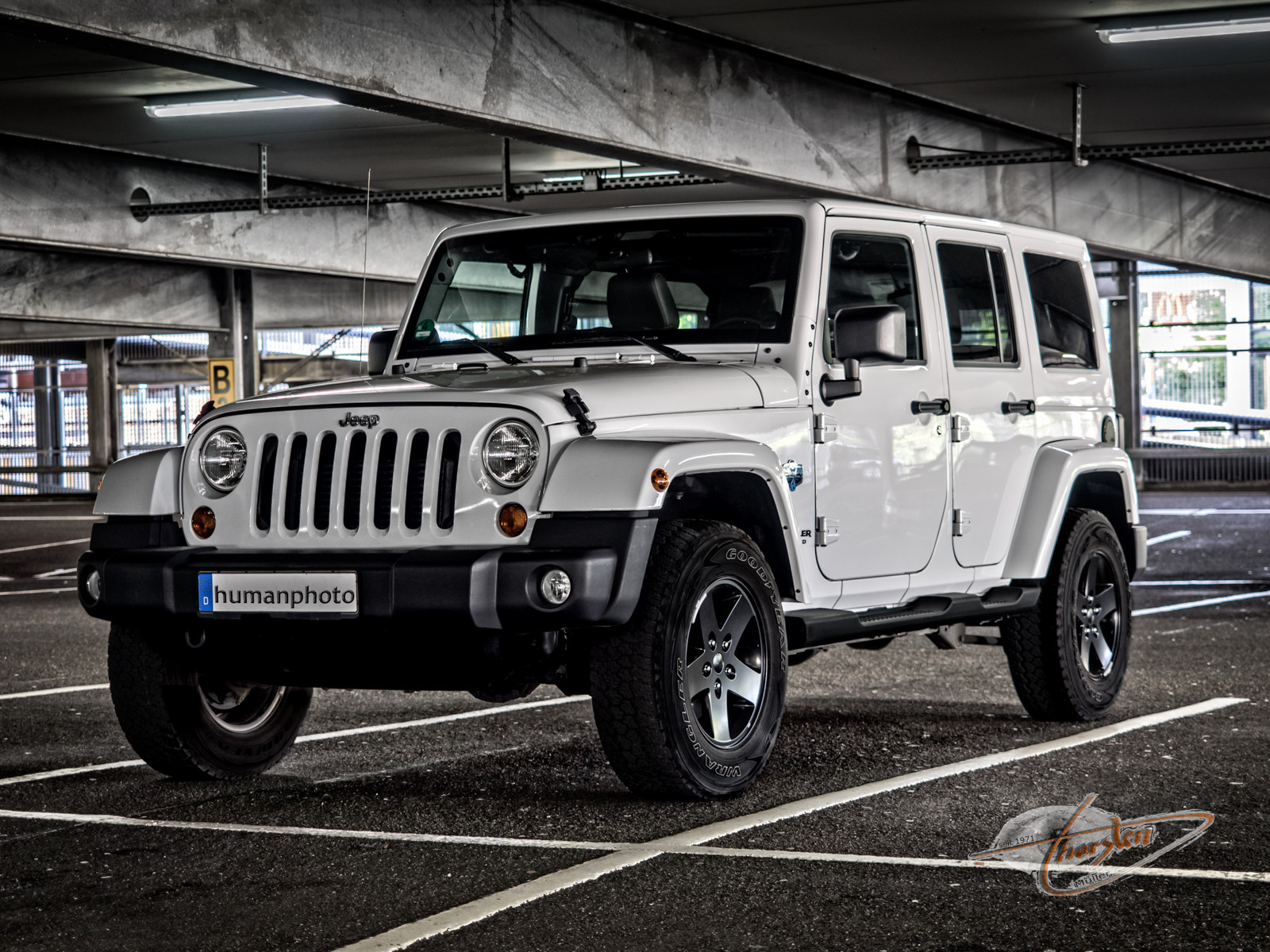 Jeep Wrangler Unlimited 2012 (Sondermodel Arctic)