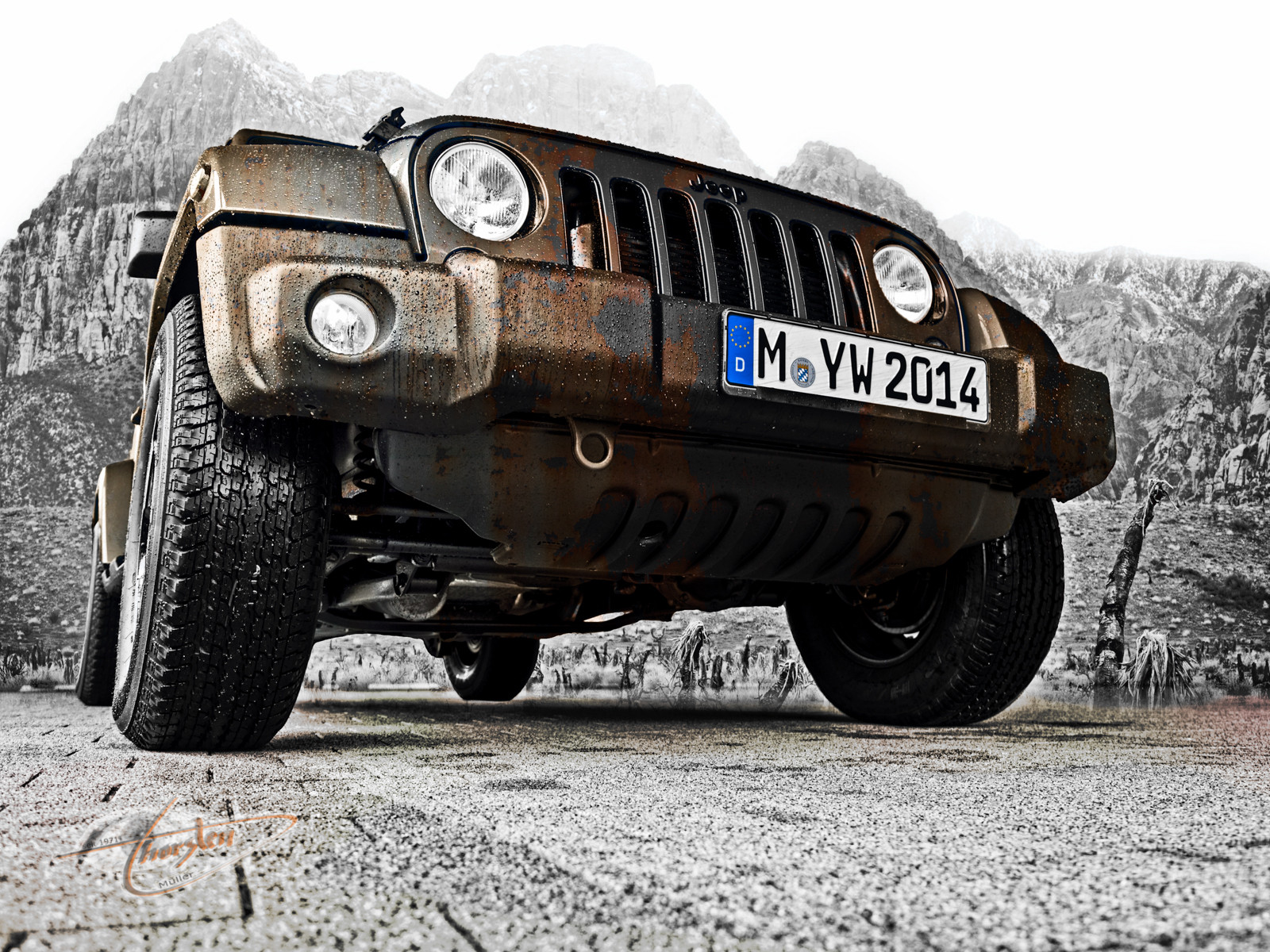 Jeep Wrangler Unlimited (Polar Edition) rusti by humanphoto