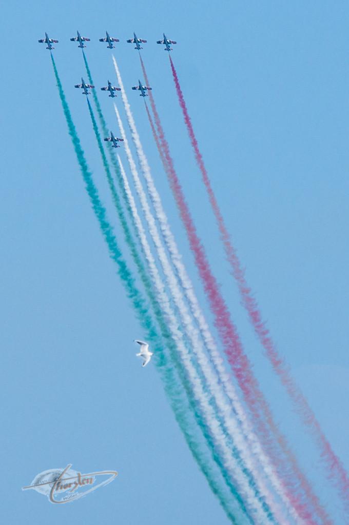 Frecce Tricolori Lignano Italy 2013