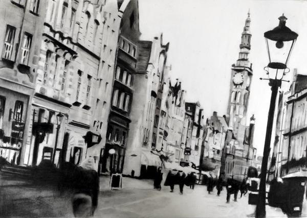 Lets Gdansk | 59 x 42 cm | Eur 200