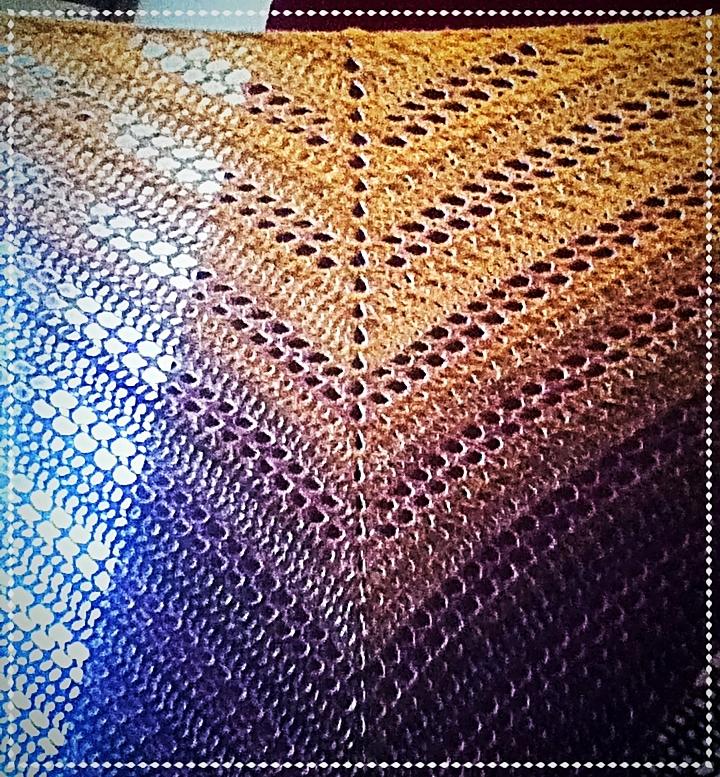 Das Muster nennt sich Deichspielerei (von Birgit Reuner)