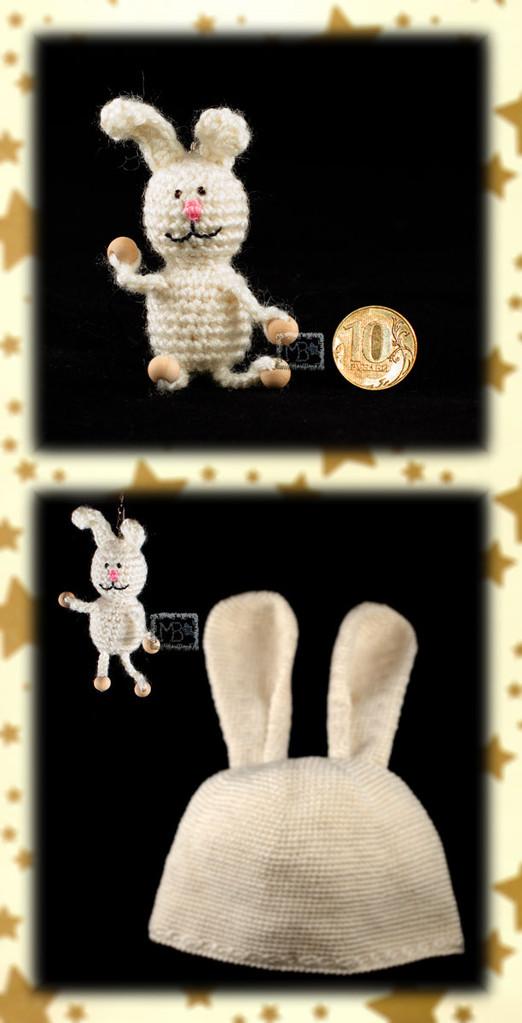 Талисман Зайчонок Белянчик, Авторская работа / Mascot Little Bunny Belyanchik, The work of authorship