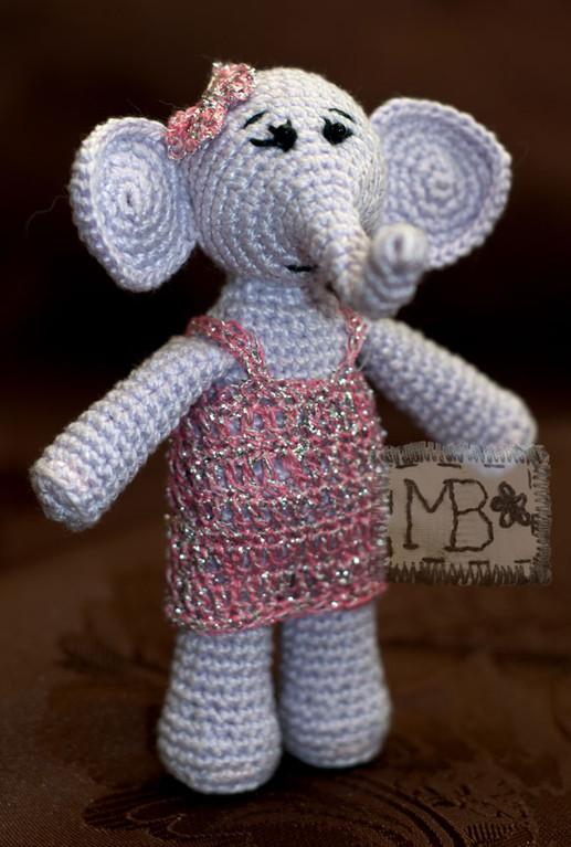 Слонечка Дочка / Elephant Baby Girl  11 cm  Авторская работа / The work of authorship