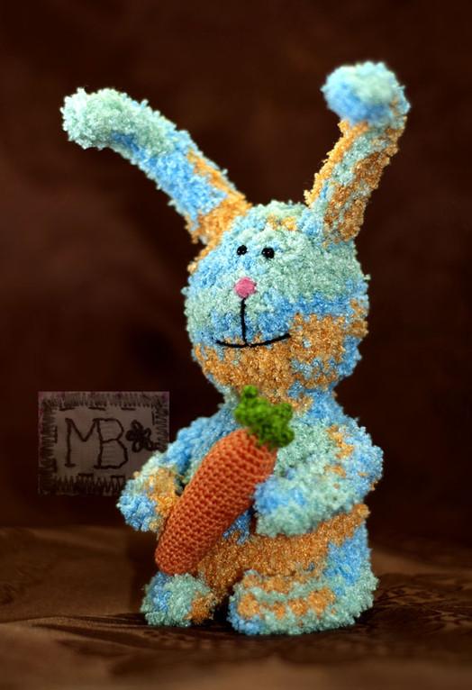 Кролик и морковка / Bunny & Carrot 13 cm (body)