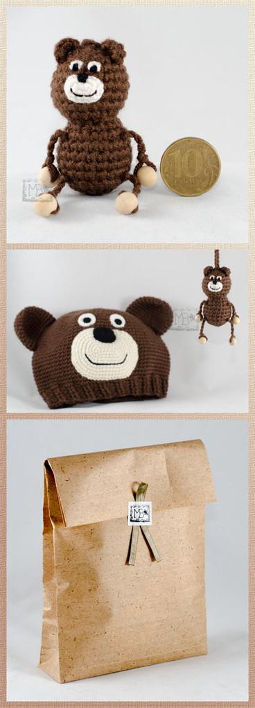 Талисман Медвежонок Мурашик, Авторская работа / Mascot Little Bear Murashik, The work of authorship