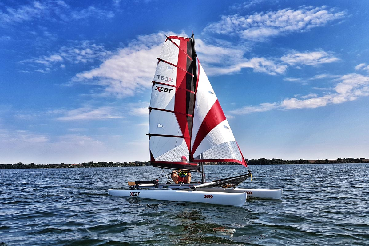 XCAT Sail   leicht, flexibel & mobil segeln