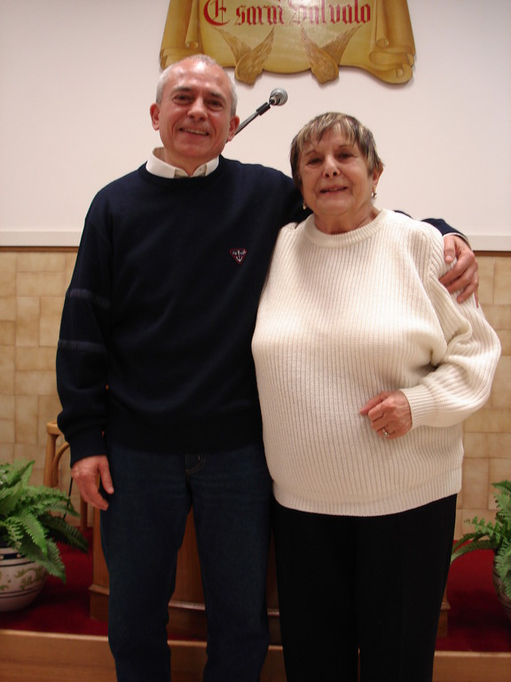 Giovanni con la madre Giovanna
