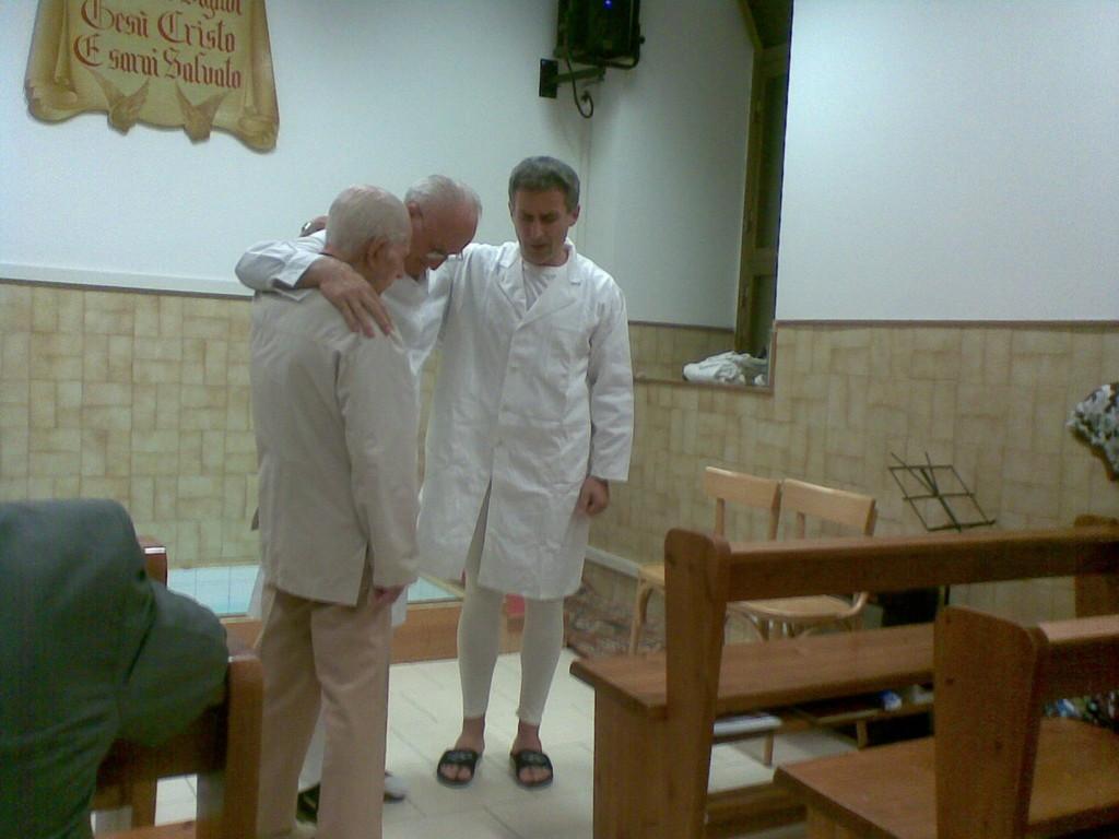 Pastore Ezio Evangelisti, Corrado De Angelis, Pastore Fabrizio Evangelisti