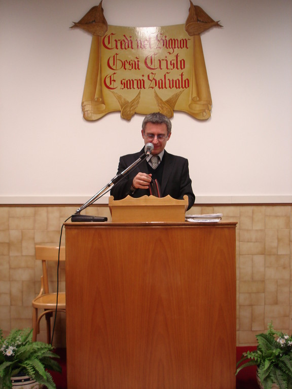 Pastore Fabrizio Evangelisti
