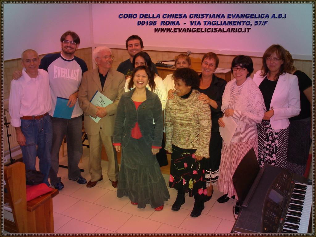 Coro della Chiesa Cristiana Evangelica A.D.I. - Via Tagliamento, 57 Roma