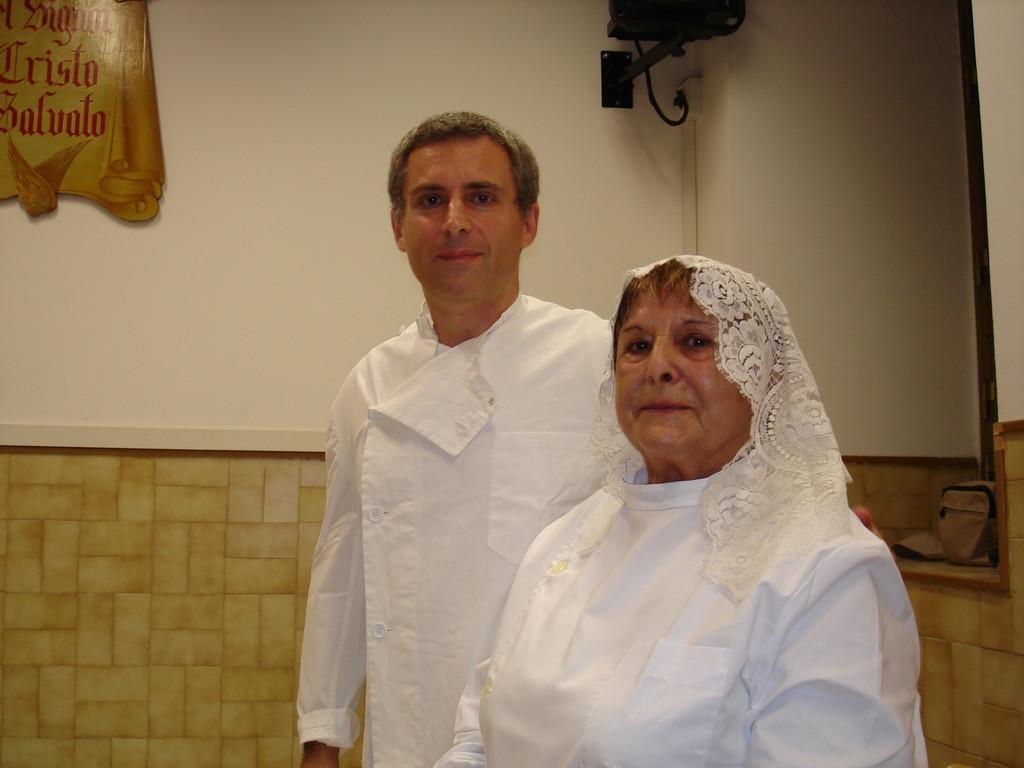 Pastore Fabrizio Evangelisti e Giovanna