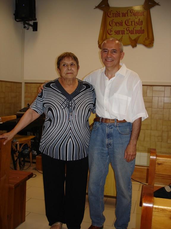 Giovanna e suo figlio Giovanni