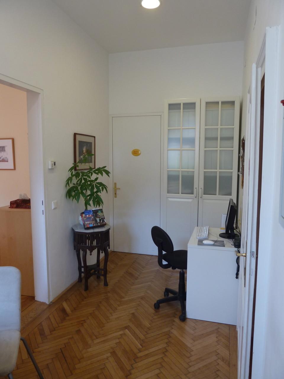 Eingangsbereich zu den Zimmern
