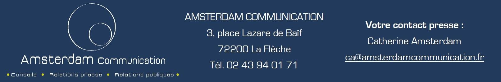 Votre contact : Catherine Amsterdam