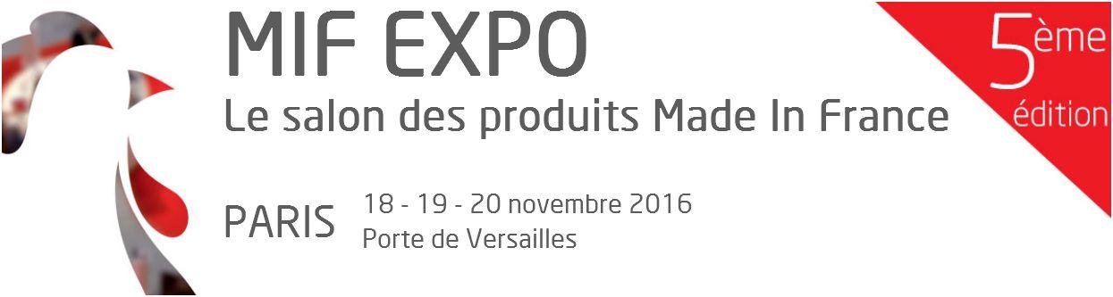 Salon Made in France, novembre 2016 - Porte de Versailles