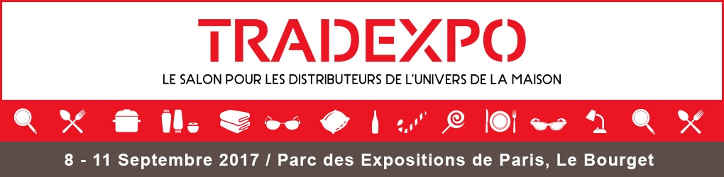 Salon Tradexpo - Parc des Expositions Paris Le Bourget - Septembre 2017