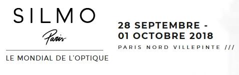 Silmo le mondial de l'optique - du 28 septembre au 1er octobre 2018 - Paris Nord Villepinte
