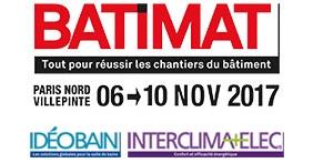 Salon Batimat & Ideobain - Paris Villepinte - Novembre 2017