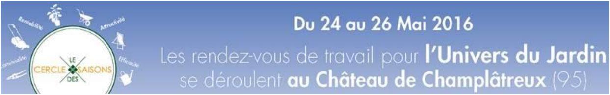 Le Cercle des Saisons - Mai 2016 - Château de Champlatreux (95)