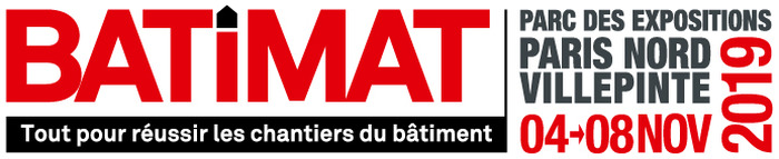 Salon Batimat - Paris Villepinte - Novembre 2019