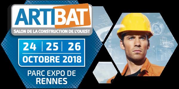 Salon ARTIBAT - du 24 au 26 octobre 2018 - Parc des Expos de Rennes