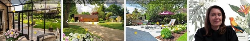 "©ArchiTendances - nos scénographies ""jardins"""