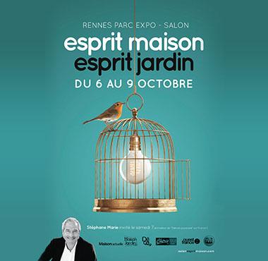 Salon Esprit Maison Esprit Jardin - Rennes Parc Expos - Octobre 2017
