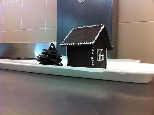 Une maison en gâteau... Miam